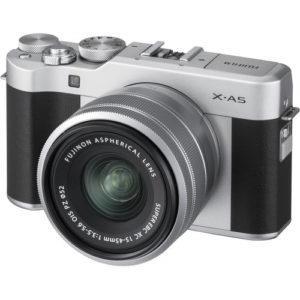 קיט מצלמה ללא מראה FujiFilm FinePix X-A5 + 15-45mm