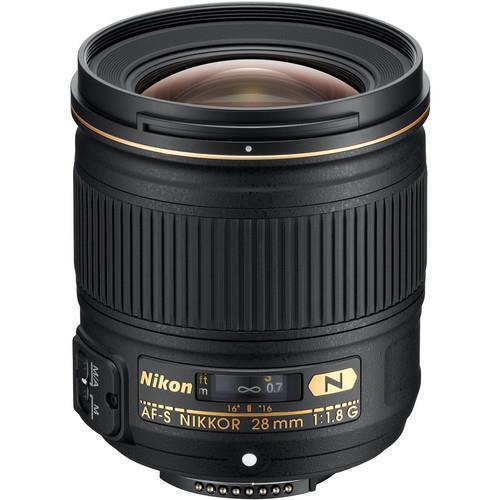 עדשה Nikon AF-S Nikkor 28mm f/1.8G