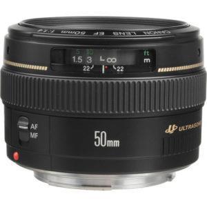 עדשה Canon EF 50mm f/1.4 USM