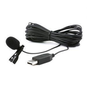 מיקרופון דש Saramonic SR-ULM10 USB Lavalier Microphone