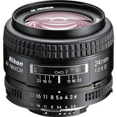 עדשה Nikon AF Nikkor 24mm f/2.8D