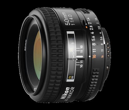 עדשה Nikon AF Nikkor 50mm f/1.4D