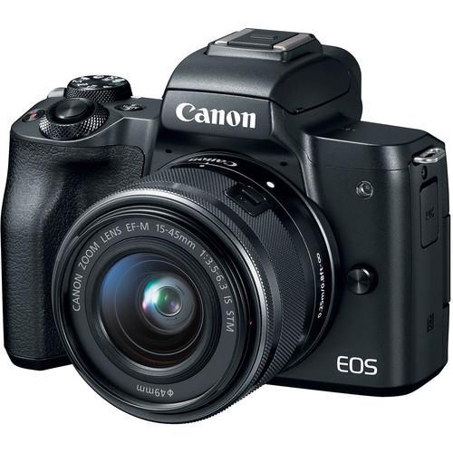 קיט מצלמה ללא מראה Canon EOS M50+15-45mm