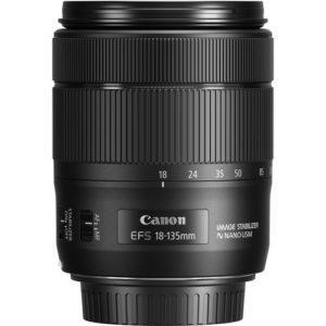 עדשה Canon EF-S 18-135mm f/3.5-5.6 IS USM NANO