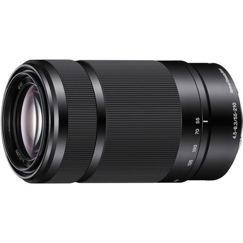 עדשה Sony E 55-210mm f/4.5-6.3 OSS