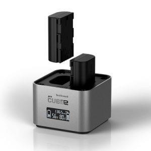 מטען נייח Hahnel Cube 2 Pro Canon