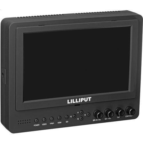 """מסך Lilliput 7"""" 665/O/P LCD Monitor HDMI"""
