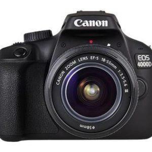 קיט Canon EOS 4000d + 18-55 III