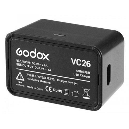 מטען Godox VC-26 לV1