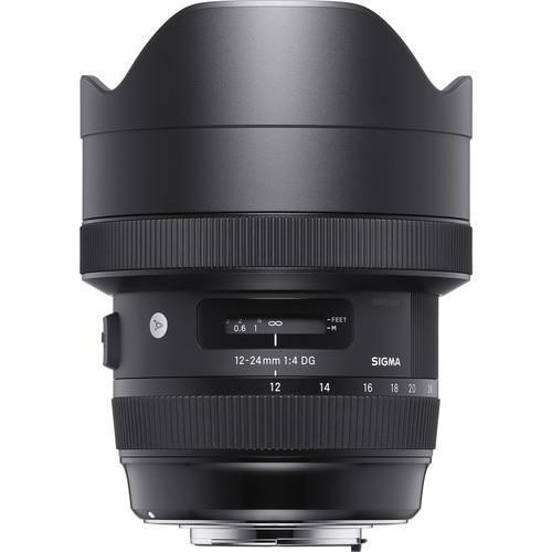 עדשה Sigma 12-24mm f/4 DG HSM Art למצלמות Nikon