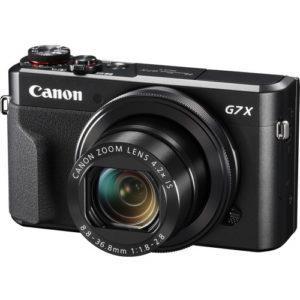 מצלמה קומפקטית Canon PowerShot G7 X Mark II