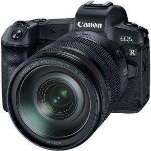 קיט מצלמה ללא מראה Canon EOS R +24-105 fr f/4l