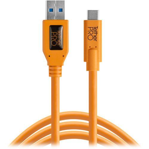 כבל Tether Tools TetherPro USB Type-C to USB 3.0 Type-A 4.6m