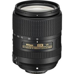 עדשה Nikon AF-S DX NIKKOR 18-300mm f/3.5-6.3G ED VR