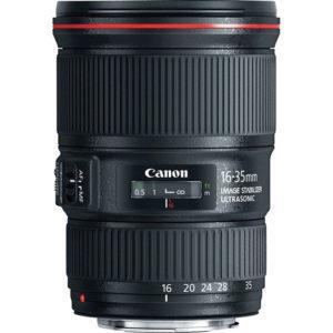 עדשה Canon EF 16-35mm f/4L IS USM