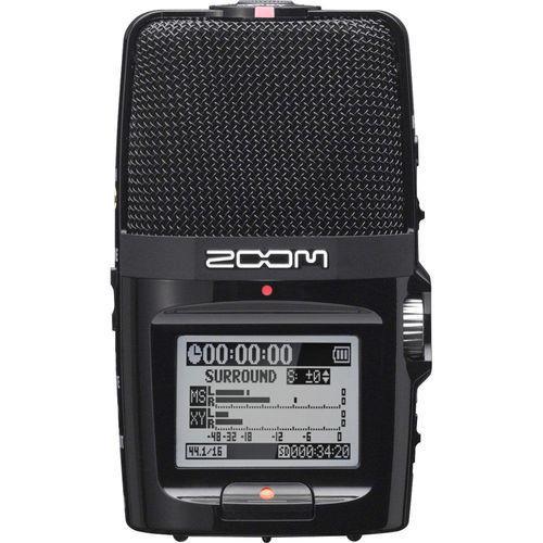 מקליט סאונד נייד מקצועי קומפקטי Zoom H2n