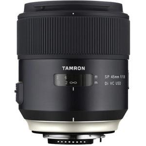 עדשה Tamron SP 45mm f/1.8 Di vc usd למצלמות Canon