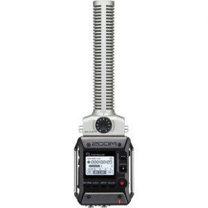 מקליט סאונד נייד עם מיקרופון שוטגן Zoom F1 Recorder + Shotgun Mic