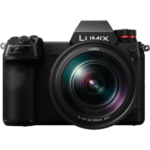קיט מצלמת מירורלס ועדשה עם Panasonic Lumix DC-S1M (24-105 Kit) + V-Log