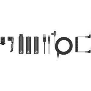 מערכת מיקרופון אלחוטית למצלמה Sennheiser XSW-D PORTABLE ENG SET