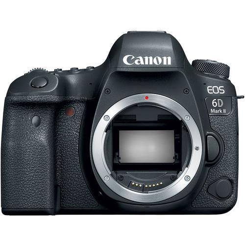 מצלמה רפלקס Canon EOS 6D Mark II – גוף בלבד