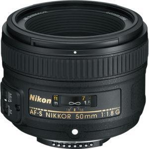 עדשה Nikon AF-S Nikkor 50mm f/1.8G Lens