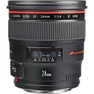עדשה Canon EF 24mm f/1.4L II USM