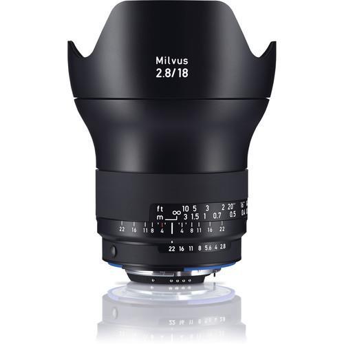 עדשה Zeiss Milvus 18mm f/2.8 ZF.2 למצלמות Nikon