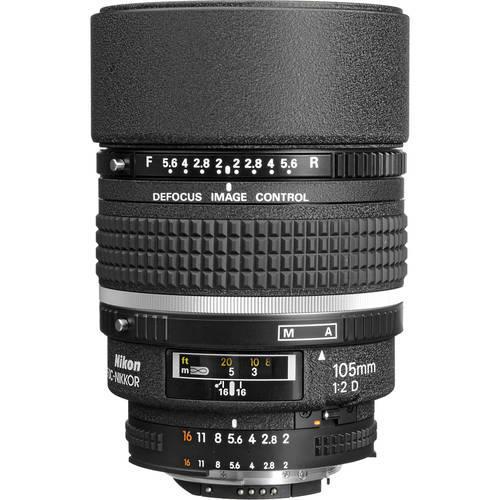 עדשה Nikon AF DC-Nikkor 105mm f/2D