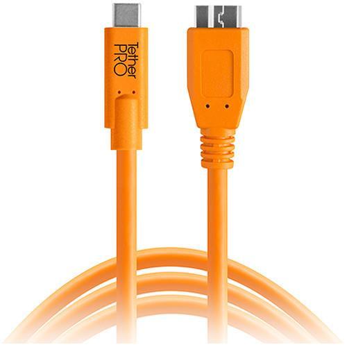 כבל Tether Tools TetherPro USB Type-C to Micro-USB 4.6m