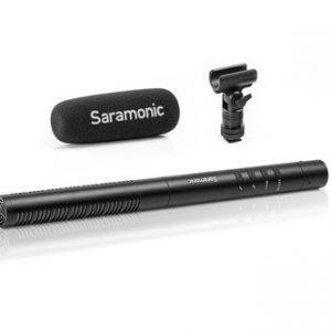 מיקרופון Saramonic SR-TM1 - Super-Cardioid Broadcast XLR Shotgun Condenser