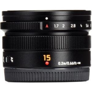 עדשה Panasonic Leica DG 15mm f/1.7 ASPH