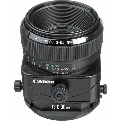 עדשה Canon Tilt–shift TS-E 90mm f/2.8