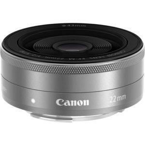 עדשה Canon EF-M 22mm f/2 STM