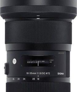 עדשה SIGMA 18-35mm f/1.8 DC HSM למצלמות Canon