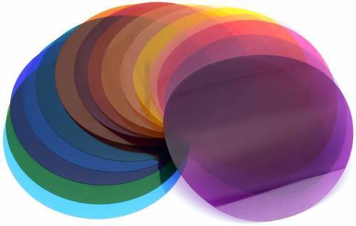 סט פילטרים צבעוניים Godox v-11C color temperatue pack for v1& ad200pro