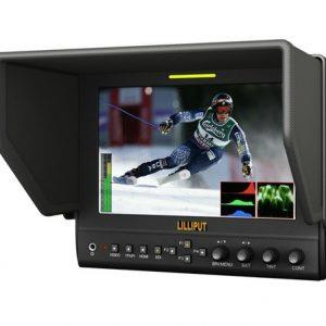 מסך Lilliput 7'' advanced field monitor with hdmi out 663/o/p2