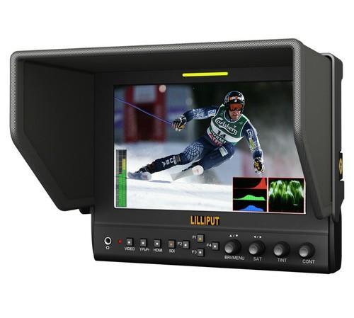 מסך Lilliput 7'' advanced field monitor with hdmi out 663/o/p2