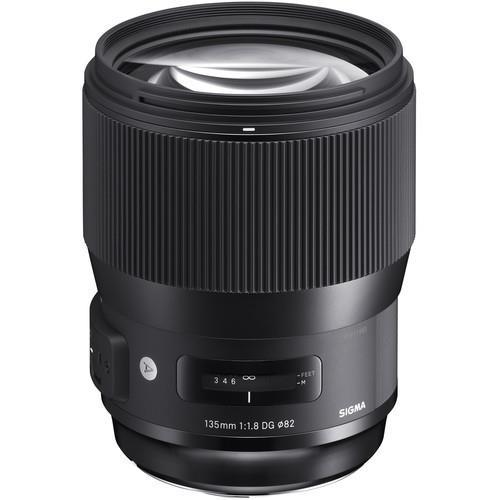 עדשה Sigma 135mm f/1.8 dg hsm art למצלמות Nikon