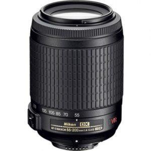 עדשה Nikon 55-200mm f/4-5.6G ED AF-S VR DX II