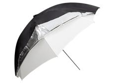 """מטרייה 111 ס""""מ godox ub-006-44 dual duty umbrella """"44"""