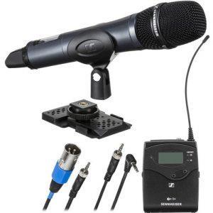 מערכת מיקרופון ידני כיווני אלחוטי Sennheiser EW 135P G4