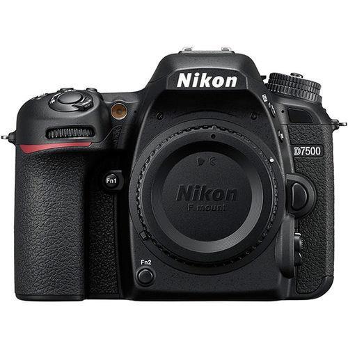 מצלמה רפלקס DSLR  Nikon D7500 - גוף בלבד