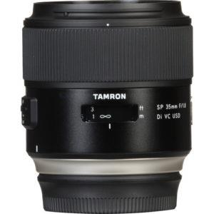 עדשה Tamron SP 35mm f/1.8 Di VC USD למצלמות Canon