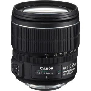 עדשה Canon EF-S 15-85mm f/3.5-5.6 IS USM
