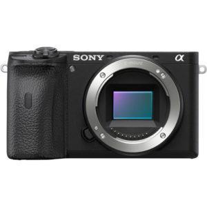 מצלמה ללא מראה Sony Alpha A6600 - גוף בלבד