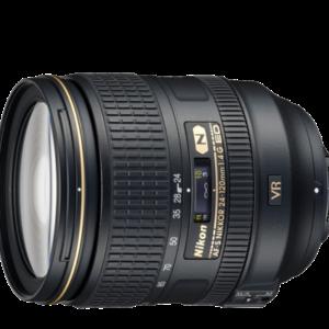 עדשה Nikon AF-S 24-120mm f/4G ED VR