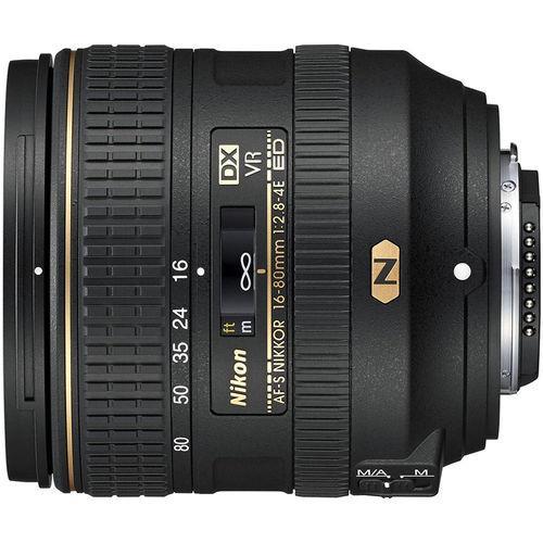 עדשה Nikon AF-S DX 16-80mm f/2.8-4E ED VR