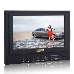 מוניטור Lilliput 7'' field hdmi out 5d-II/0/P