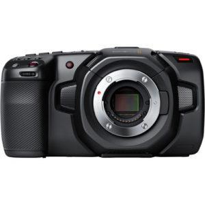 מצלמה ללא מראה Black magic Pocket Cinema 4K